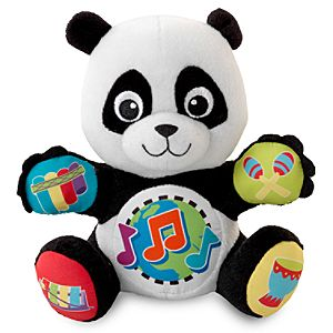 Baby Einstein Panda Plush Press and Play Pal