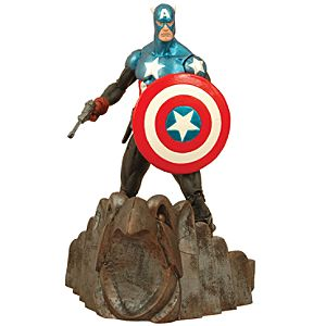 Marvel Select Captain America Action Figure -- 7 H