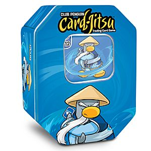 Club Penguin Card Jitsu Water Window Tin
