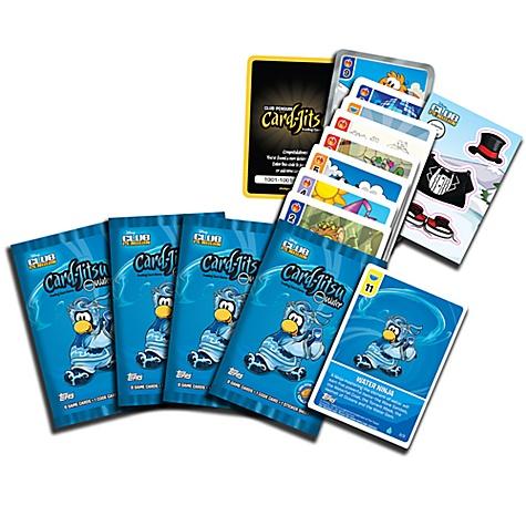 Club Penguin Card Jitsu Water Shaped Tin