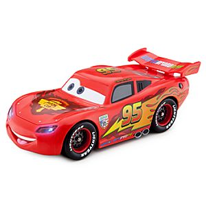 Cars 2 Transforming Lightning McQueen Vehicle