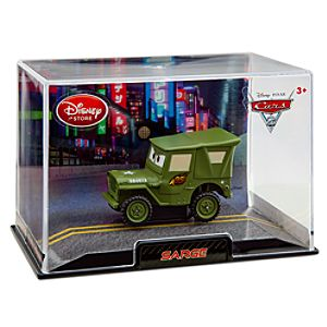 Sarge Cars 2 Die Cast Car