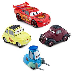 Thats Amore!!! Cars 2 Die Cast Set -- 4-Pc.