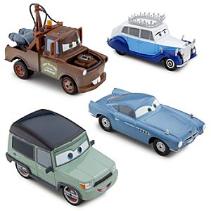 Save the Queen Cars 2 Die Cast Set -- 4-Pc.