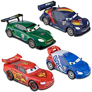 Cars 2 Light-Up Die Cast Car Set #1 -- 4-Pc.