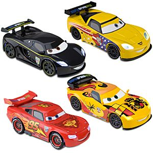 Cars 2 Light-Up Die Cast Car Set #2 -- 4-Pc.