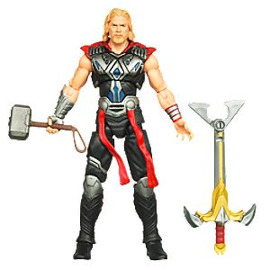 Battle Hammer Thor: Thor Action Figure -- 3 3/4 H