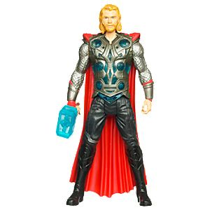 Blue Hammer Thor Action Figure -- 8 H