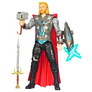 Lightning Power Thor Action Figure -- 10 H