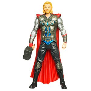 Gray Hammer Thor Action Figure -- 8 H