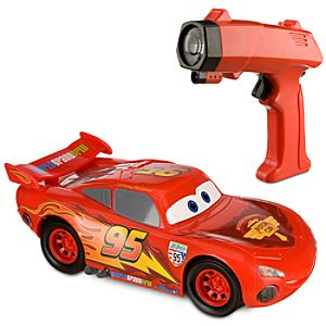 Cars 2 Lazer Light Chaser Lightning McQueen RC Vehicle