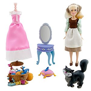 Cinderella Mini Doll Play Set
