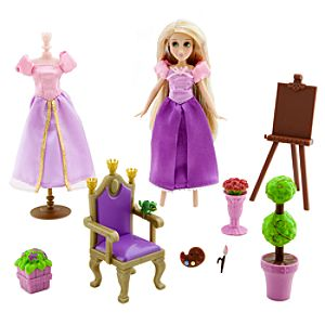 Rapunzel Mini Doll Play Set