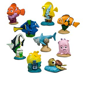 Finding Nemo Figure Play Set -- 9-Pc.