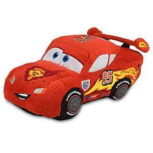 Cars 2 Lightning McQueen Plush Toy -- 8 L
