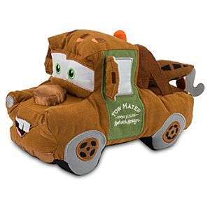 Cars 2 Tow Mater Plush Toy -- 8 L