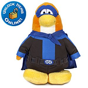 Club Penguin 6 Limited Edition Penguin Plush -- Shadow Guy