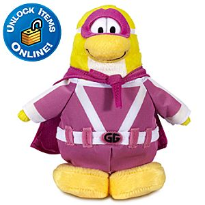 Club Penguin 6 Limited Edition Penguin Plush -- Gamma Gal (Semi Rare)