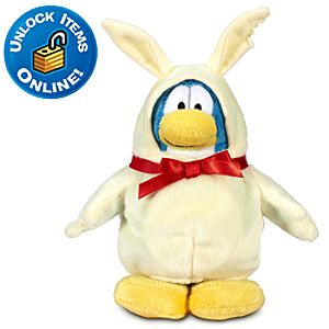 Club Penguin 6 Limited Edition Penguin Plush -- White Chocolate Bunny