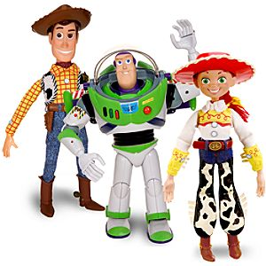 Talking Toy Story Action Figure Set -- 3-Pk.