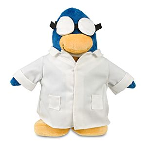 Club Penguin 9 Penguin Plush -- Gary the Gadget Guy