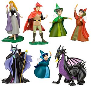 Aurora Figure Play Set -- 7-Pc.