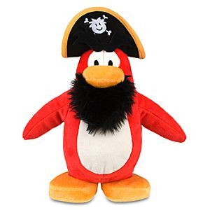 Club Penguin 9 Penguin Plush -- Captain Rockhopper