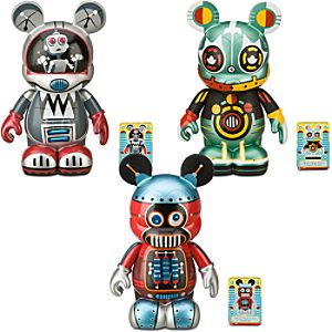 Vinylmation Robot 9 Figure Set -- 3-Pc.