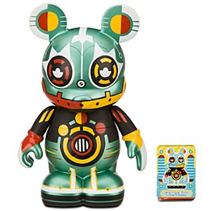 Vinylmation Robot 9 Figure -- Reflector-Bot
