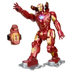 Remote Control Walking Iron Man 2 Action Figure