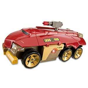 Rolling Battle Headquarters Iron Man 2 Vehicle