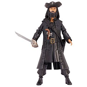 Pirates of the Caribbean Blackbeard Action Figure -- 4'' H