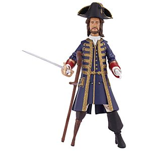 Pirates of the Caribbean Captain Barbossa Action Figure -- 4'' H