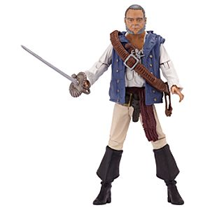 Pirates of the Caribbean Gibbs Action Figure -- 4'' H