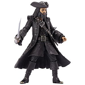 Pirates of the Caribbean Blackbeard Action Figure -- 6 H