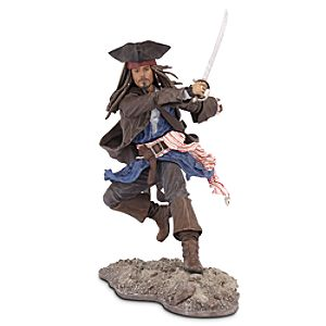 Pirates of the Caribbean Captain Jack Sparrow Action Figure -- 6'' H