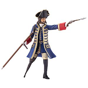 Pirates of the Caribbean Captain Barbossa Action Figure -- 6 H