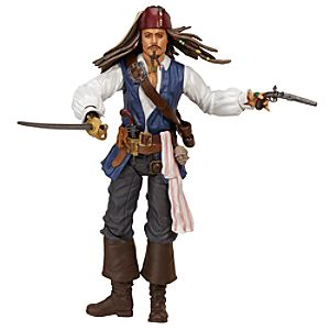 Pirates of the Caribbean: On Stranger Tides Jack Sparrow Action Figure -- 12