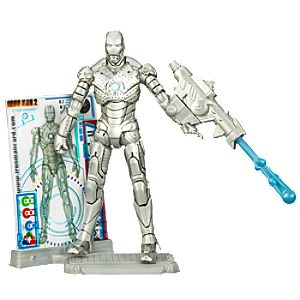 Iron Man Mark II Iron Man 2 Action Figure -- 4