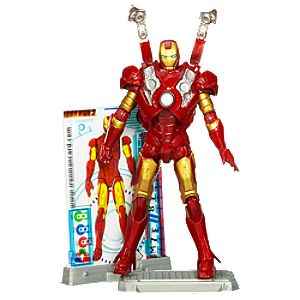 Iron Man Mark III Iron Man 2 Action Figure -- 4