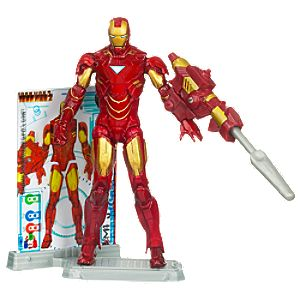 Iron Man Mark VI Iron Man 2 Action Figure -- 4