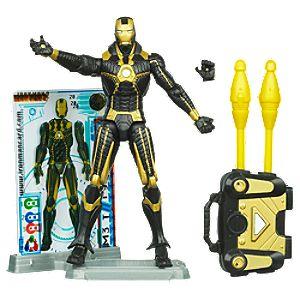 Iron Man Mark V Stealth Armor Iron Man 2 Action Figure -- 4