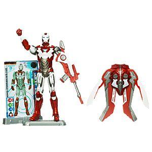 Iron Man Hot Zone Armor Iron Man 2 Action Figure -- 4