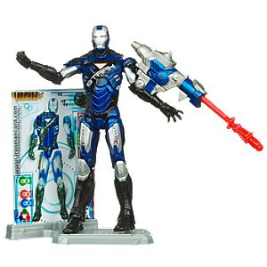 Iron Man Stark Racing Armor Iron Man 2 Action Figure -- 4