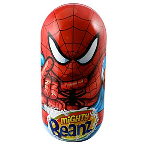 Mighty Beanz Spider-Man Tin