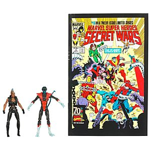 Marvel Universe Comic Pack: Nightcrawler and Storm Action Figure Set