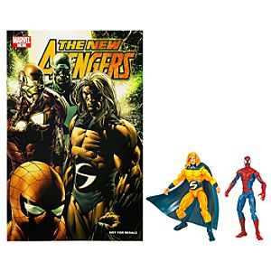 Marvel Universe Comic Pack: Spider-Man and Sentry Figure Set
