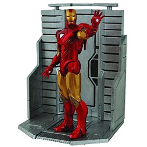 Marvel Select Mark VI Iron Man Action Figure -- 7