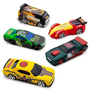 Marvel Universe Die Cast Car Set #1 -- 5-Pc.