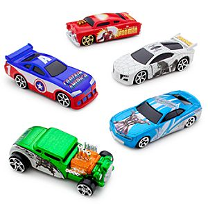 Marvel Universe Die Cast Car Set #2 -- 5-Pc.